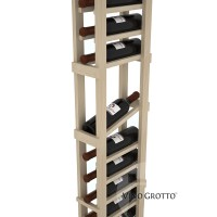 American Series 1 Column Display Cellar Rack - 6 Foot - Pine Detail
