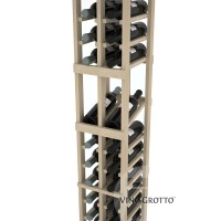 American Series 2 Column Display Cellar Rack - 6 Foot - Pine Detail