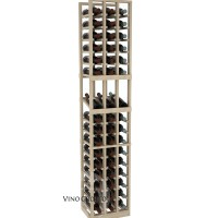 American Series 3 Column Display Cellar Rack - 6 Foot - Pine Showcase