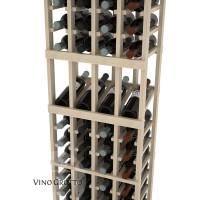 American Series 4 Column Display Cellar Rack - 6 Foot - Pine Detail
