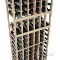 American Series 6 Column Display Cellar Rack - 6 Foot - Pine Detail