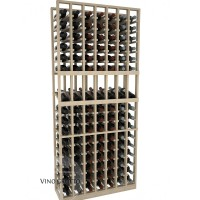 American Series 7 Column Display Cellar Rack - 6 Foot - Pine Showcase