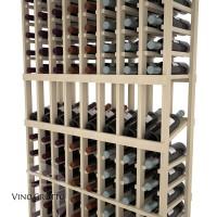 American Series 8 Column Display Cellar Rack - 6 Foot - Pine Detail