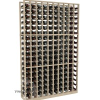 American Series 10 Column Standard Cellar Rack - 6 Foot - Pine Showcase