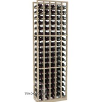 American Series 5 Column Standard Cellar Rack - 6 Foot - Pine Showcase