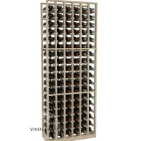 American Series 6 Column Standard Cellar Rack - 6 Foot - Pine Showcase