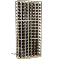 American Series 7 Column Standard Cellar Rack - 6 Foot - Pine Showcase