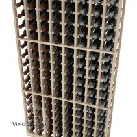 American Series 8 Column Standard Cellar Rack - 6 Foot - Pine Detail