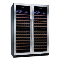 N'FINITY PRO HDX 332 Double Door Wine Cellar (Stainless Steel Trim)v