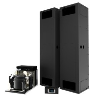 WhisperKOOL Vertical Mount 13000 Twin Split System