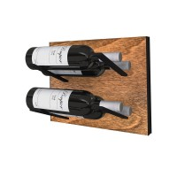 Stact L-Type Wine Rack - Black and Tan
