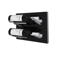 Stact L-Type Wine Rack - Piano Black