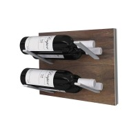 Stact L-Type Wine Rack - Walnut