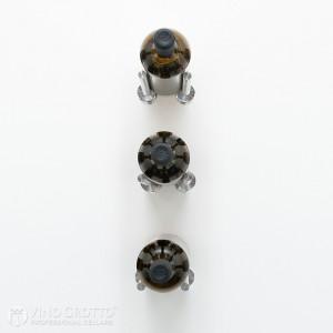 VintageView Vino Rails Designer Kit - 3 Bottles (Milled Aluminum)