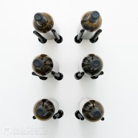 VintageView Vino Rails Designer Kit - 6 Bottles (Anodized Black)