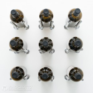 VintageView Vino Rails Designer Kit - 9 Bottles (Milled Aluminum)