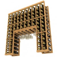 Home Collector Series - Stackable Wine Rack with Stemware Rack