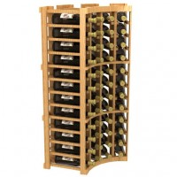 Home Collector Series - Stackable Curved Corner Wine Rack