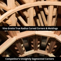 Vino Grotto True-Radius Corners