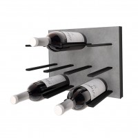 STACT C-Type Wine Rack - Concrete & Black
