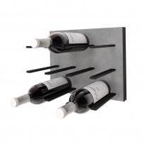 STACT C-Type Wine Rack - Concrete & Black