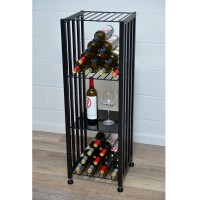 Case and Crate Syrah Shelf - Solid-Black Showcase