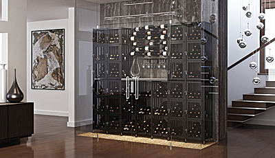 Secure Wine Lockers and Bins