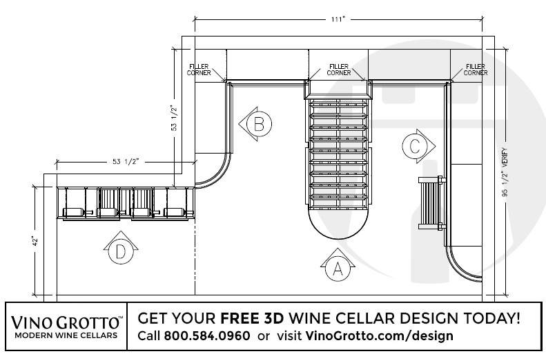 Vino Grotto goes above and beyond with every design we do. Where most guys stop at simple 2D drawings we go the extra mile and deliver 3D designs of your ...  sc 1 st  Vino Grotto & Custom Wine Racks and Wine Cellars from Vino Grotto