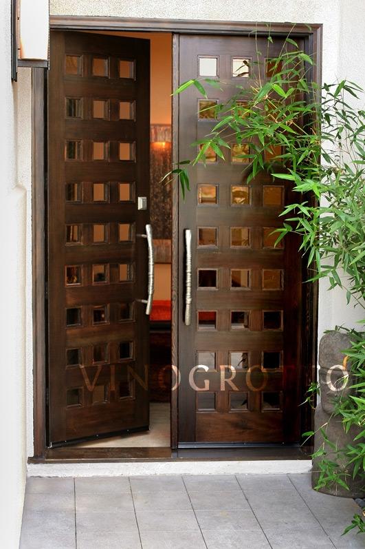 Custom Wine Cellar Doors By Vinogrotto
