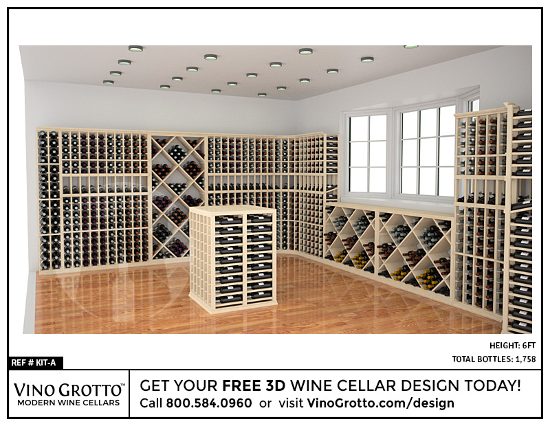 Wine Cellar Design - Professional Series Kits