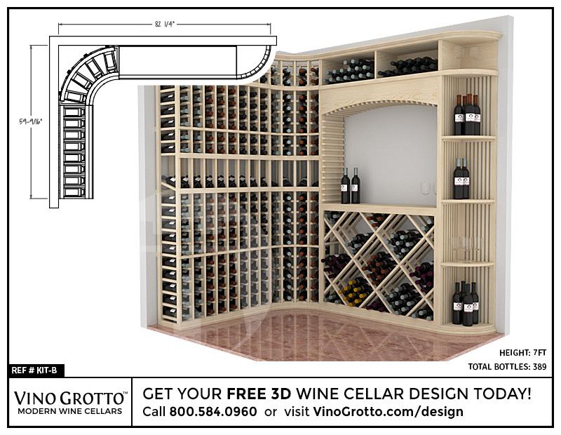Wine Cellar Design - Professional Series Kits