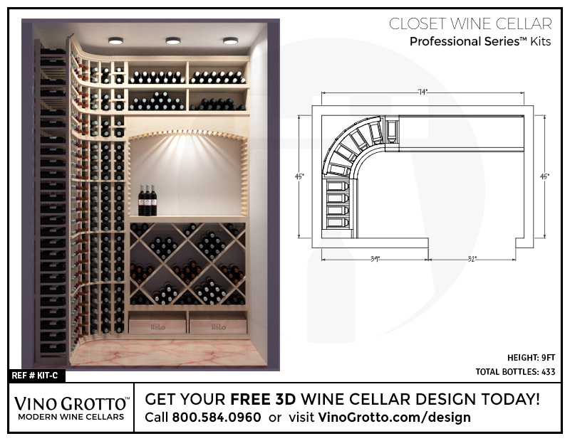 Custom Wine Cellar Design