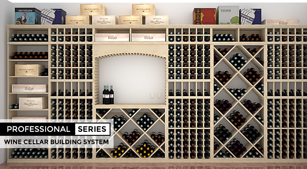Professional Series 10% Off - Wine Cellar Building Kits