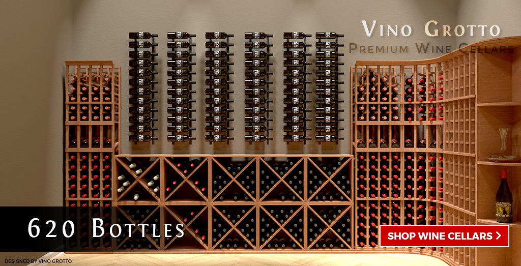 Professional Series Wine Cellar Kits + Vintage View Wall Mounted Wine Racks & Vino Grotto™ Wine Cellar Systems
