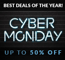 CYBER MONDAY SALE - Save up to 50% + Free Shipping