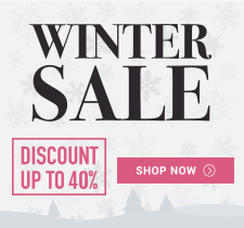 Winter Sale - Save up to 40% + Free Shipping