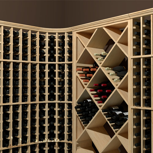 High Capacity Wine Collector Wine Cellar