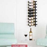 Vintage View WS31 - 9 Bottle Wine Rack - Satin-Black