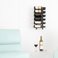 Vintage View WS23 - 18 Bottle Wine Rack - Satin Black