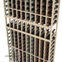 Professional Series - 6 Foot - 10 Column Display Rack - Pine Detail