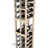 Professional Series - 6 Foot - 2 Column Display Rack - Pine Detail