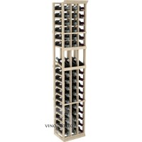 Professional Series - 6 Foot - 3 Column Display Rack - Pine Showcase