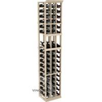 Professional Series - 6 Foot - 3 Column Display Rack - Pine Showcase