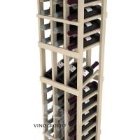 Professional Series - 6 Foot - 3 Column Display Rack - Pine Detail