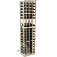 Professional Series - 6 Foot - 4 Column Display Rack - Pine Showcase