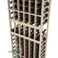 Professional Series - 6 Foot - 6 Column Display Rack - Pine Detail