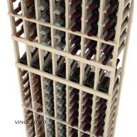 Professional Series - 6 Foot - 7 Column Display Rack - Pine Detail