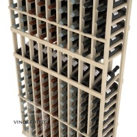 Professional Series - 6 Foot - 9 Column Display Rack - Pine Detail