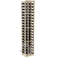 Professional Series - 6 Foot - 3 Column Cellar Rack - Pine Showcase