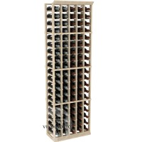 Professional Series - 6 Foot - 5 Column Cellar Rack - Pine Showcase